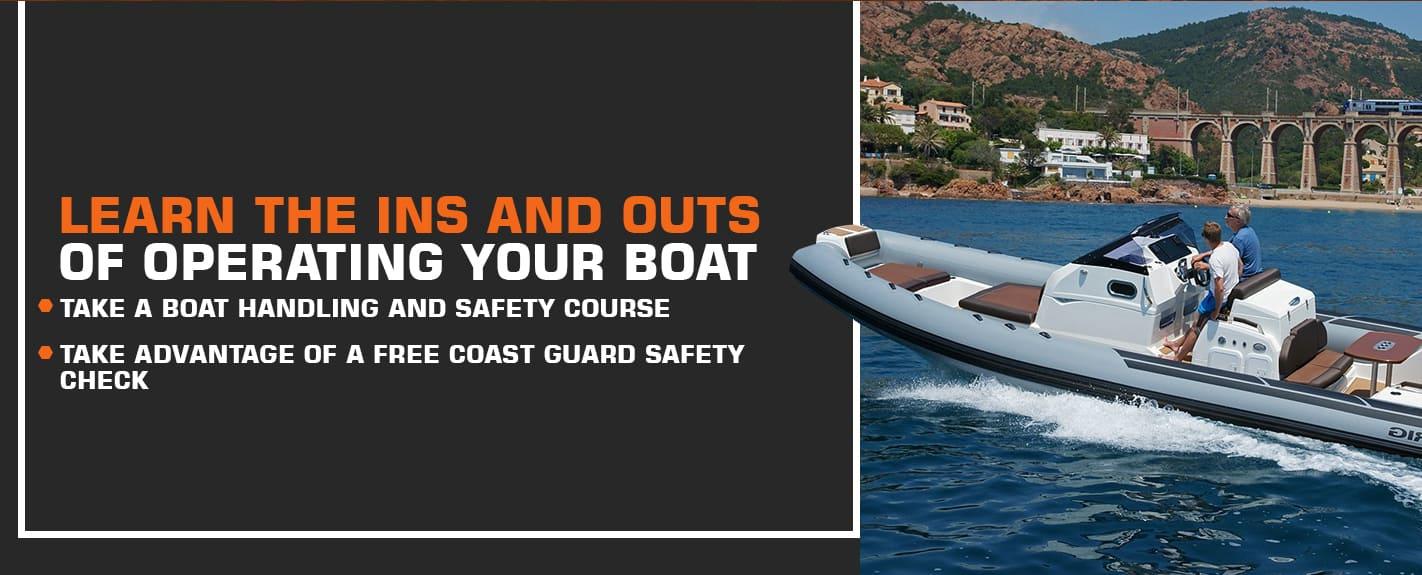 Operating Your RIB Boat