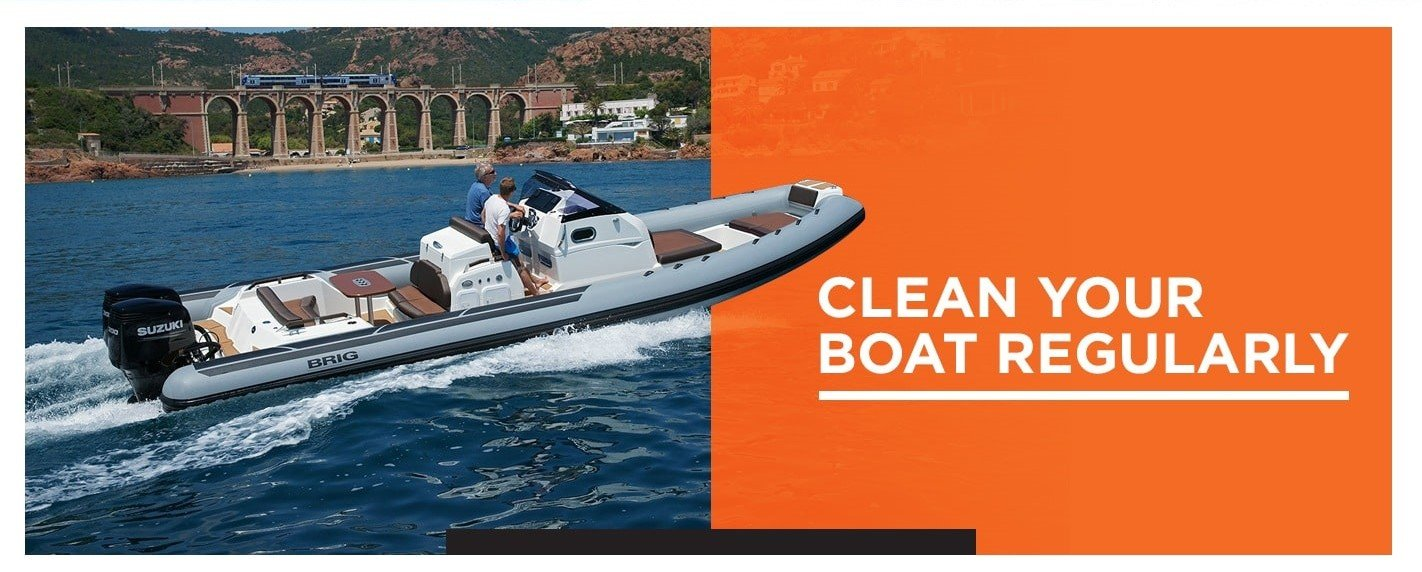 How To Clean Your RIB Boat